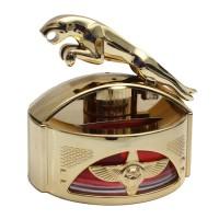 Parfum Mobil / Hiasan Dashboard Model Jaguar Emas
