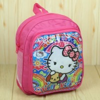 Tas Ransel Anak Cewek Tas PAUD Motif Hello Kitty Pink Mini Lucu Kuat