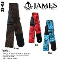 Strap Gitar James JS-05 / Strap Gitar Akustik / Strap GItar Bass JS-05