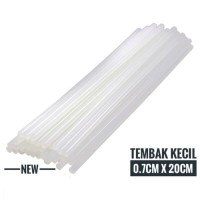 Isi refill refil Glue gun Lem tembak Kecil Hot melt Stick 20cmx7mm