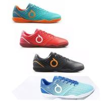 Sepatu Futsal Original Ortuseight Genesis Maroon / Black / Arctic blue