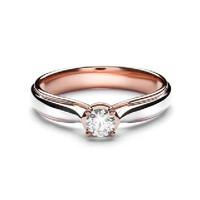 Lino and sons - Cincin Berlian F VVS (Olivia Diamond ring) - two tone, 10