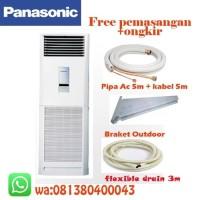 AC Floor Standing Panasonic 2 PK CS-J18FFP5 + Pemasangan