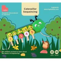 Mainan Edukasi Anak - Sequencing Caterpillar