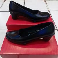 sepatu pantofel wanita.wedges Barcel tinggi hak 4cm