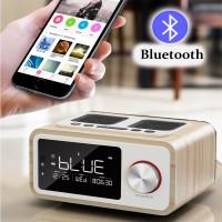 Terlaris LOCI H3 Bluetooth Speaker Alarm Clock Media Audio Music