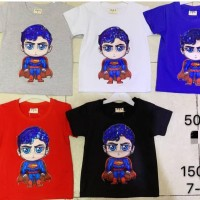 Kaos anak lampu superman 1 tahun ( import)