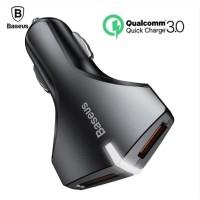 Charger Mobil Baseus Quick Charge QC 3.0 Dual USB Original
