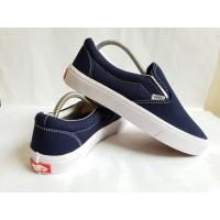 Sepatu Vans Slip On Navy Premium Quality