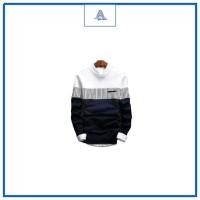 BL1010 Sweater Rajut Pria ZICO SWEATER NAVY