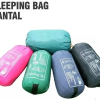 sleeping bag bantal polar lotto perlengkapan outdoor