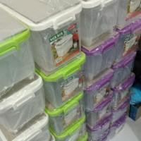 Tempat Beras Mini . Rice Box Asvita 5Kg ( Box Beras Mini)
