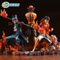 Action Figure Anime One Piece Luffy ACE sabo 3