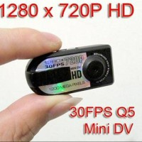 Spy Camera Q5 Super Mini Thumb Dv Q5 12 Mp Full Hd dfg 5335