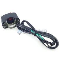 Saklar Lampu Stang Sepeda Motor On Off Universal Switch - Merah
