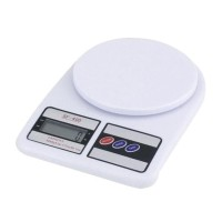 SF 400 Light Electronic Kitchen Scale Timbangan Dapur Digital - Putih