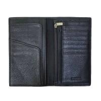 Fossil Lufkin Slim Long Wallet Executive Men Dompet Pria - Black