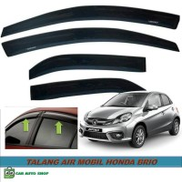 Side Visor atau Talang Air Pintu Untuk Mobil Honda Brio