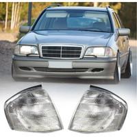 Lampu Sein Mercedes Benz W202 C Class Clear Bening 2 Pieces Kiri Kanan
