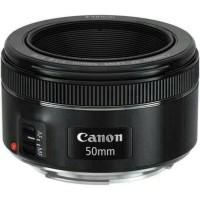 Canon 50mm F1.8 STM Lens Eos Lensa DSLR Fix + kenko Pro 1 Filter