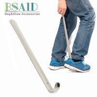 BSAID 50cm Durable Shoe Horn Stainless Steel Shoehorn Silver Professio
