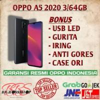 OPPO A5 2020 3/64GB NEW GARANSI RESMI