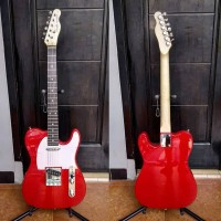 Gitar fender Telecaster red