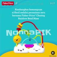 Fisher Price Chasing Rainbows Bead Maze FYL50 / mainan edukasi bayi