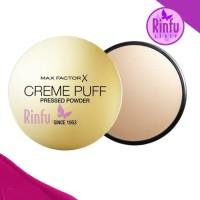 Bedak Wajah Make Up Max Factor Creme Puff Pressed Powder Original