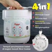 COSMOS Digital Rice Cooker Mini kecil 4 In 1 - CRJ 1031 - CRJ1031- Mag