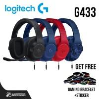 Logitech G433 7.1 Surround Sound - Gaming Headset G 433