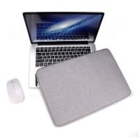Tas Laptop Softcase Waterproof Nylon High Quality 16 inch - grey