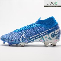 Sepatu Bola Nike Mercurial Superfly VII 360 Blue FG