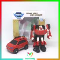 mainan anak robot - mini R - robot transformer