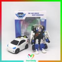 mainan anak robot - mini C - robot transformer