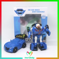 mainan anak robot - mini Y - robot transformer