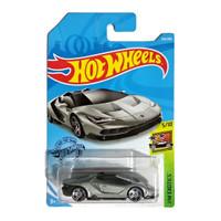Hot Wheels 16 Lamborghini Centenario Roadster Silver HW Exotics