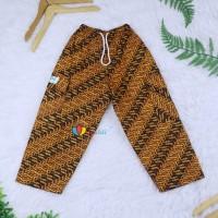 Celana Boim Batik Uk 6-8 Tahun / Celana Anak Laki Panjang Batik Harian