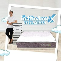 SPRING BED inthebox X size 200x200x27 Super King KASUR IN THE BOX