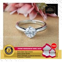 Cincin Kawin/Tunangan Emas Putih EP0055