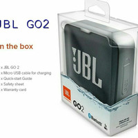 Jbl GO 2 go2 Speaker Bluetooth wireless portable by harman oem