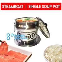Panci Shabu 16/Panci Hotpot/Panci Steamboat/Panci Suki/Single Soup Pot