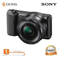 SONY ALPHA A5100 KIT 16-50MM F/3.5-5.6 OSS Black - Putih