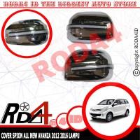 RUNNING SEIN LED Cover Spion Mobil All New AVANZA 2012 2016 Chrome