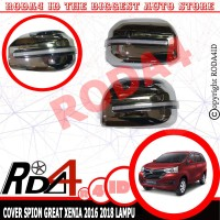 RUNNING SEIN LED Cover Spion Mobil GREAT XENIA 2016 2018 Chrome