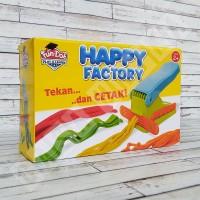 Fun Doh Happy Factory - Cetakan Mie Lilin FunDoh Mainan Edukasi Anak