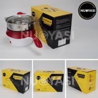 PE8 Multifunctional Electric Fry Pan/Panci listrik lapisan keramik NYS