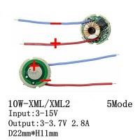 DRIVER LED CREE 10W XML XML2 T6 3 - 15 volt Dc 2800 mA 10 watt 5 mode