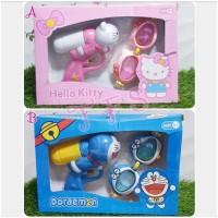 Terbaru Kacamata Renang dan Pistol Air Doraemon Hello Kitty