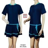 Terbaru Baju Renang Rok Wanita Jumbo Polos Premium 133 Ukuran Baju